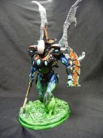 Eldar Wraithknight by Solav