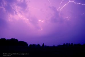 Castle Rock Lightning Vista by ndwolfwood3006