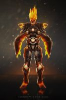 Mr.Lava wip 03 low res by GiovannyArce