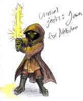 Jawa Jedi by RogueDragon