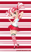 Candy pin up by goody42
