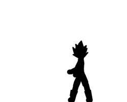 Pivot: Vegeta Blast and Fight test (GIF) by TheOnePhun211