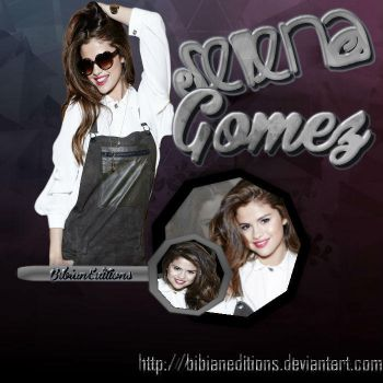 Selena Gomez by BibianEditions