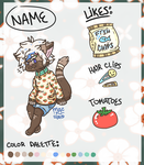 Tomato Cat Adopt (open) by MacNroo