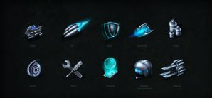 Icons federation54 by brainchilds