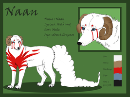 Character sheet : Naan by J-Naan