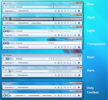 Windows 7 StylerToolbarGerman by chrizlu