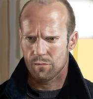 Jason Statham by traydaripper