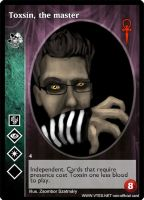 Toxsin, the master card by Toxs1n
