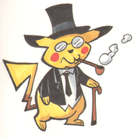 Doodle Time Pikachu by MJRainwater