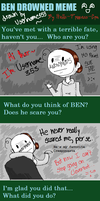 Ben Drowned Meme By Hells Princess by Username353