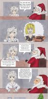 What would you do if you met Santa? Near's Story by Dragon-flame13