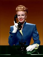Ginger Rogers Colorized 7 by ajax1946