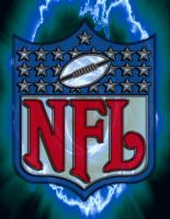 NFL glass logo by Madhatterl7