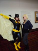 Black Canary and Batgirl? A duo for the Ages! by stitchesandsongbirds