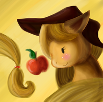 Applejack for PongApp by Scarfhider