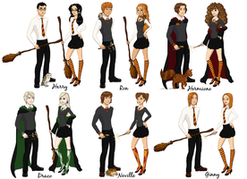 Harry Potter Gender Bender by video-manga