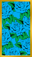 Signature Blue Rose Background(Iphone 6) by DemarkStudios