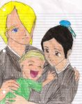 Kirahina family by EpicFlyingGlitch