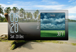 Eye On Weather 3 for xwidget by jimking