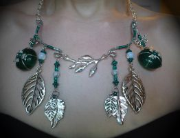 Forest Necklace by MrsSnowily