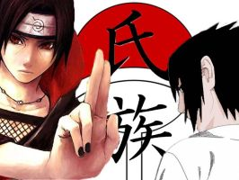 Uchiha Brothers by CrystalDragon14