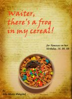 Frog in My Cereal by Saoirse-O-Sullivan