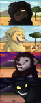 OCs - Lion King version by ChibiCorporation
