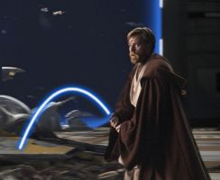 Obi Wan Annoyed by Agent-Spiff