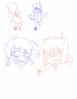 Andrew and Austin doodles by sonicfan1294
