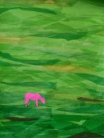 Pink Cow by Aminia-Grey