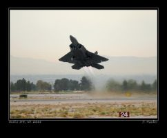 Raptor Takeoff by jdmimages