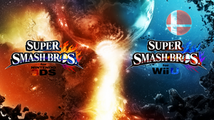 Super Smash Bros. Wii U/3DS Logo Wallpaper #12 by TheWolfBunny