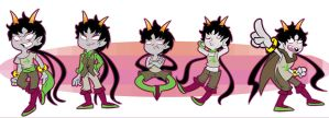 Homestuck: Meenah God Tier by Stungun44