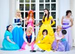 Disney Princess group by Sandman-AC