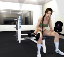 In The Gym by Lobiply
