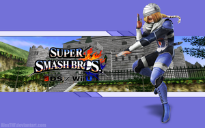 Sheik Wallpaper - Super Smash Bros. Wii U/3DS by AlexTHF