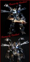 Transfrmers Ultimate Nemesis Prime by Catskind