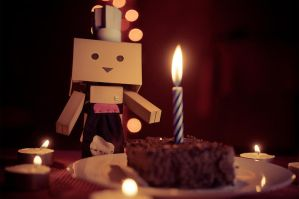 Happy Birthday from Chef Danbo by Cj-Caty