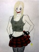 New and improved Harley Quinn by horror-lover