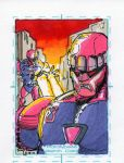 Sentinels sketch card by Prototype66