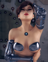 Gynoid 0x60 by TweezeTyne