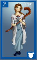 Fantasy Cards- Cleric by Sktchman