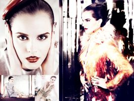 Emma Watson for Vogue by everpresentpast