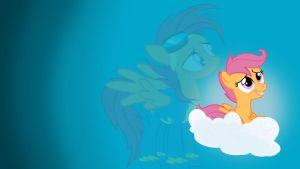 Scootaloo Daydream Wallpaper by GoodStNero