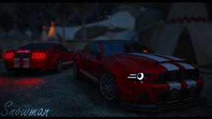 Ford-Mustang-Shelby-GT500 by DiegoGraphics
