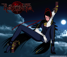Bayonetta - I'm a Bit... I mean Witch by Remmirath90