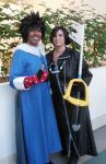 Menma and Xion by R-Legend