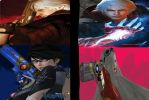 Bayonetta 2 and Devil May Cry 4 Cover by Hatredboy
