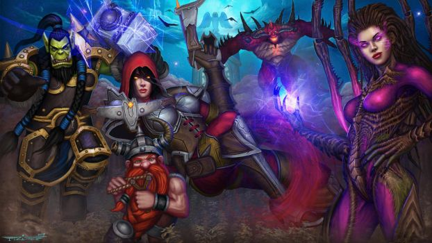 Heroes of the Storm Cursed Hollow by itzaspace